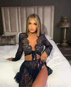 ESCAPE WITH ME lace set