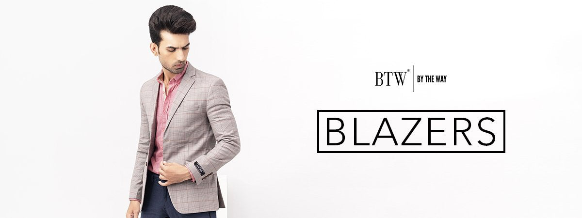 BTW: Winter Blazer for Men | Casual Blazer Winter Fashion in Pakistan