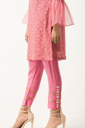 Candy Pearl Pink Trouser