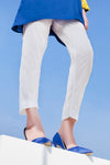 Mosaic White Trouser
