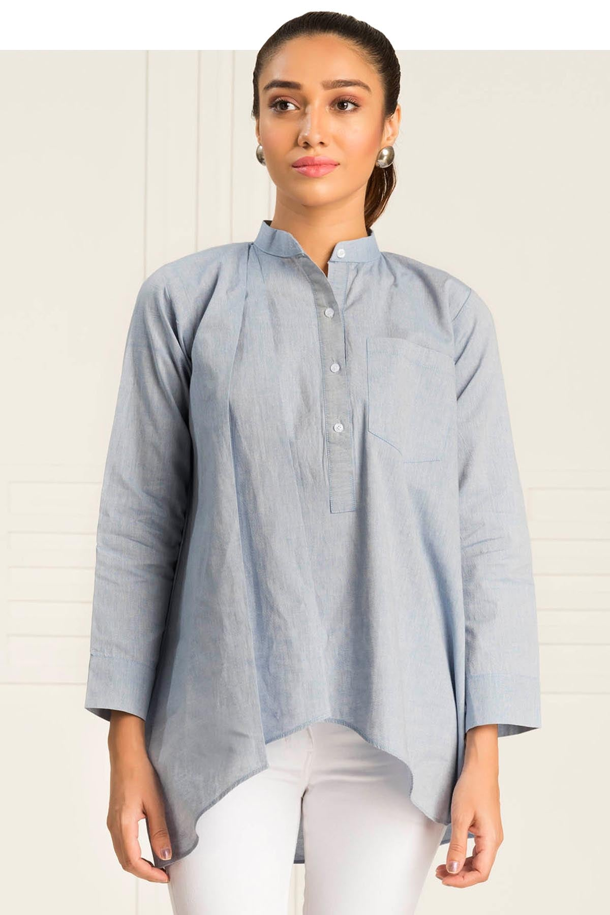 Monti Light Blue Chambray