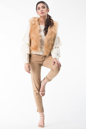 Short Fur Jacket