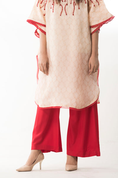Crystal Red  Affairs Trouser