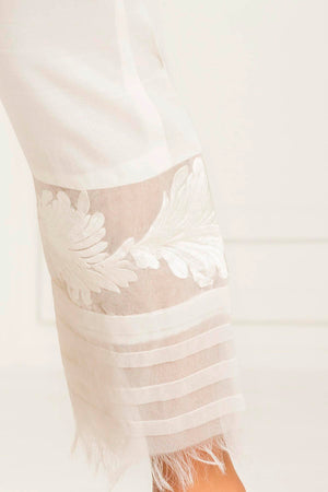White Rose Trouser