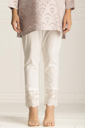 Frence White Trouser