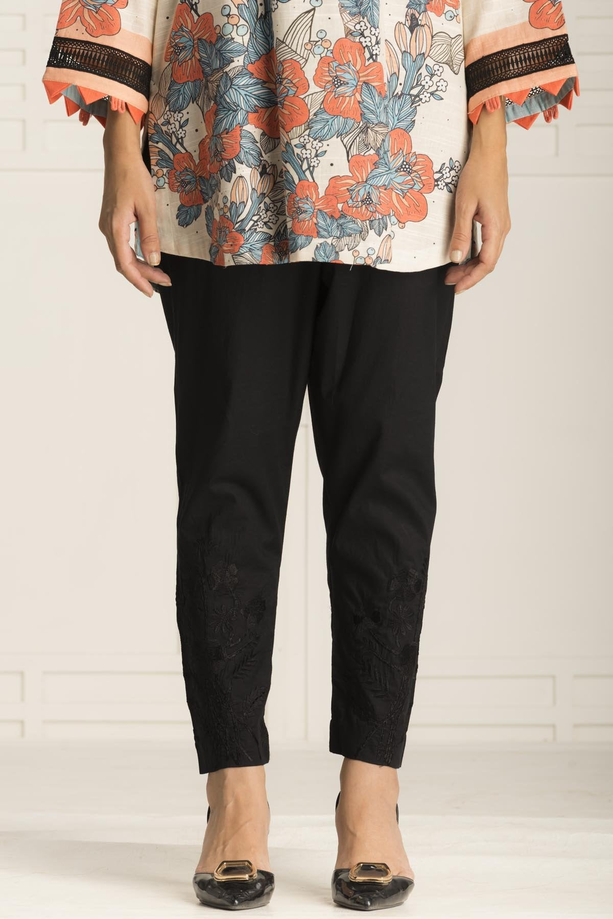 Black Bison Trouser