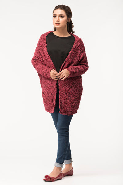 Amaranth Cardigan