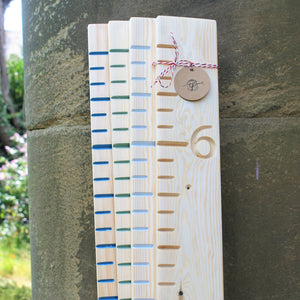 girls birthday gift growth chart