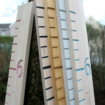 height chart measuring stick