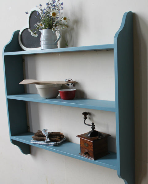 kitchen shelving unit solid wood ready to hang