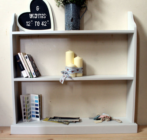 large bespoke hand made free standing book shelf