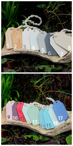 shabby chic painted clothes hanger
