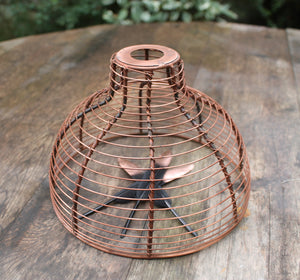 rustic light birdcage