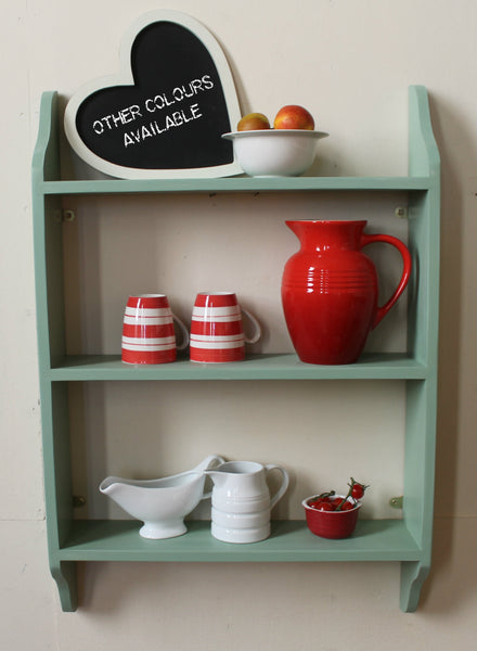 bespoke shelf hand painted ready to hang