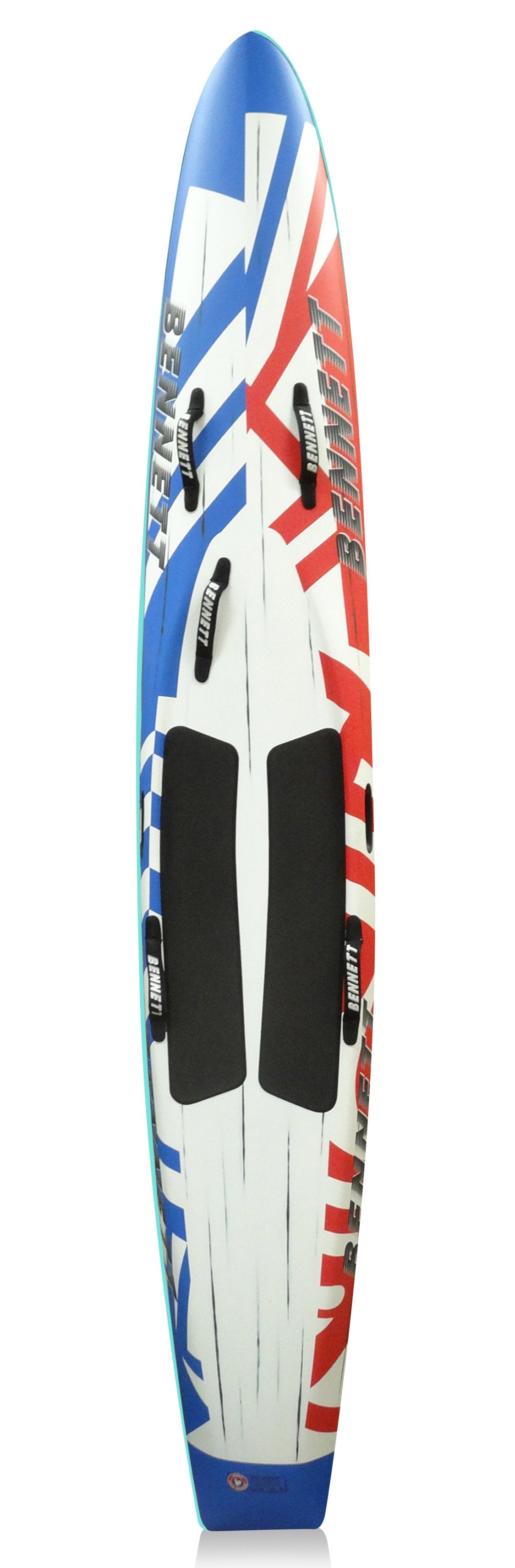 "Brushed Carbon 10'6"" Race Board"