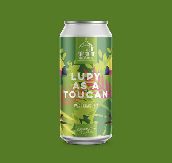 Lupy as a Toucan - West Coast IPA 7.0%