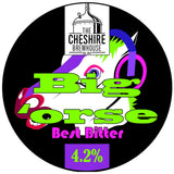 Abigail O'rse pump clip by The Cheshire Brewhouse
