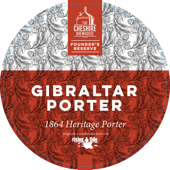 Gibraltar Porter Pump Clip by The Cheshire Brewhouse