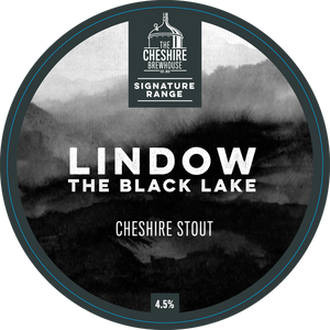 "Lindow ""The Black Lake"" Cheshire Stout 4.5%"