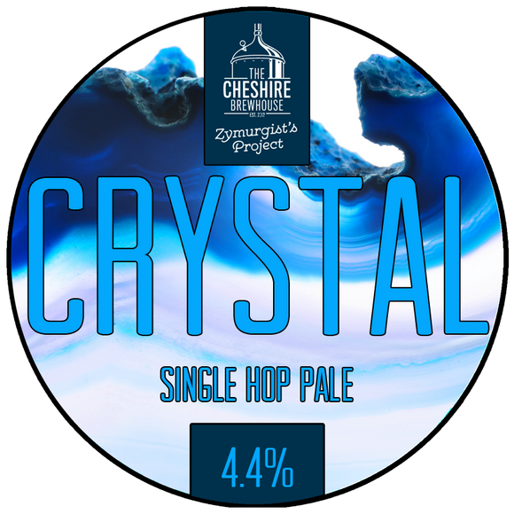 Crystal Pump clip by The Cheshire Brewhouse
