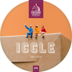 Iccle Table Beer Pump Clip by The Cheshire Brewhouse
