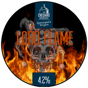 Lord Flame pumpnclip by The Cheshire Brewhouse