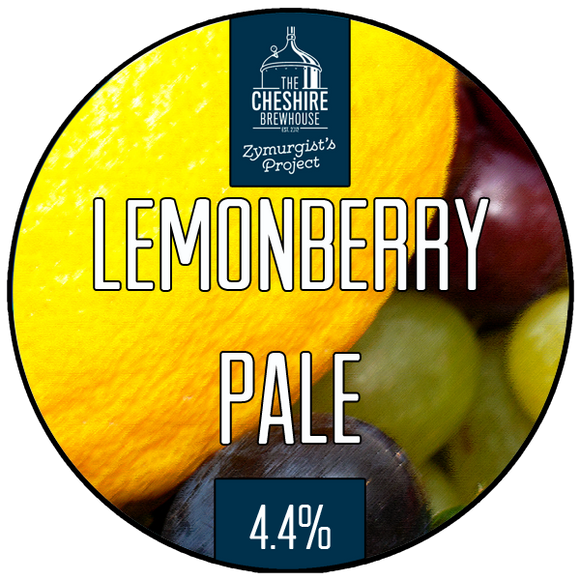 Lemonberry pump clip by The Cheshire Brewhouse