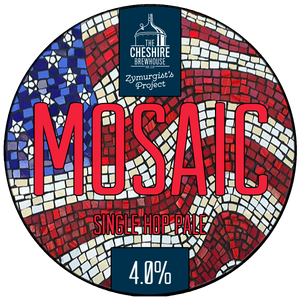 Mosaic Songle Hop Pale Ale Pump Clip by The Cheshire Brewhouse