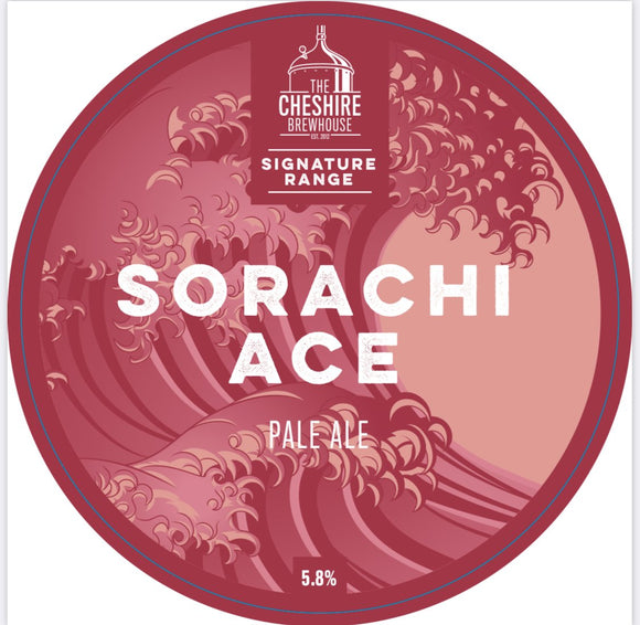 Sorachi Ace - Pale Ale - Pump Clip by The Cheshire Brewhouse