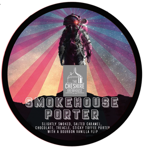 Smokehouse Porter Pump Clip by The Cheshire Brewhouse