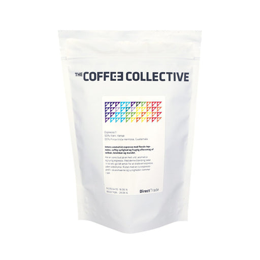 Coffee Collective pörkölt kávé - Espresso 1 (250 gr.)