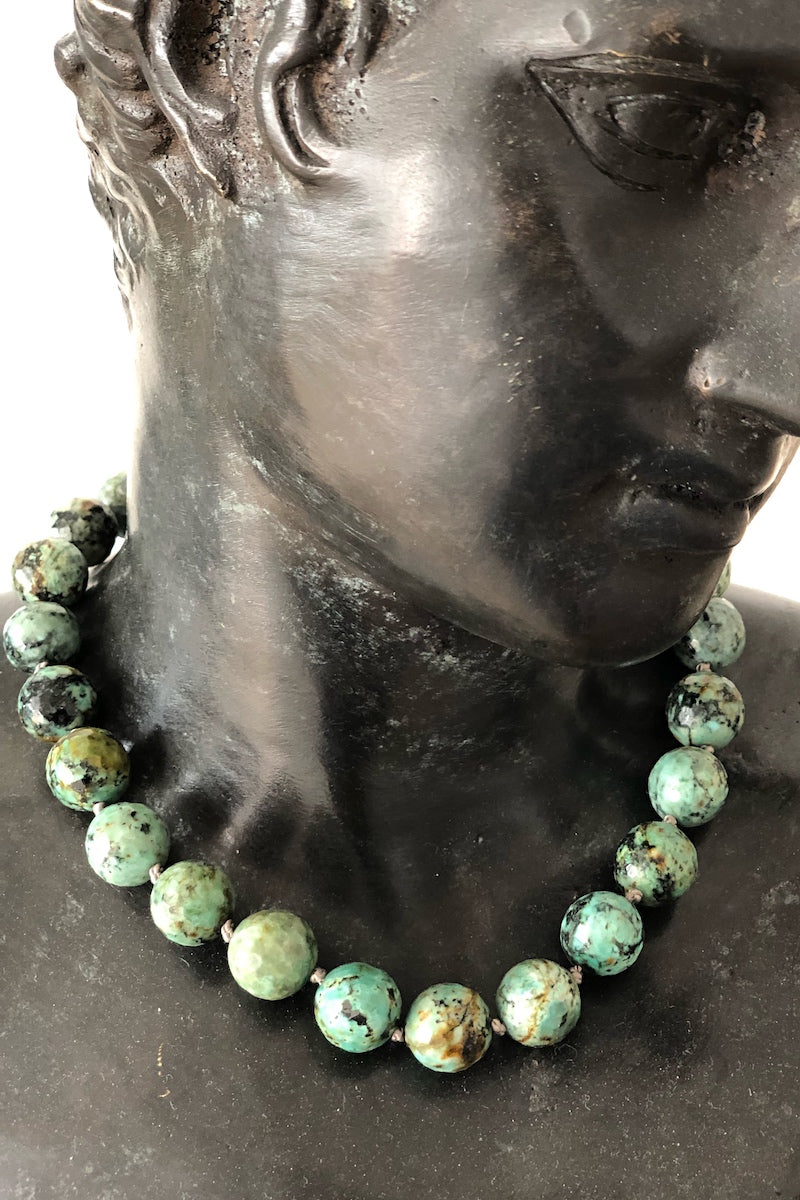 turquoise gemstone necklace