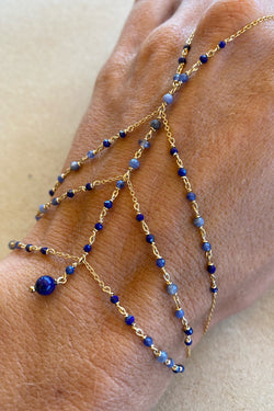 Blue Clymne hand chain