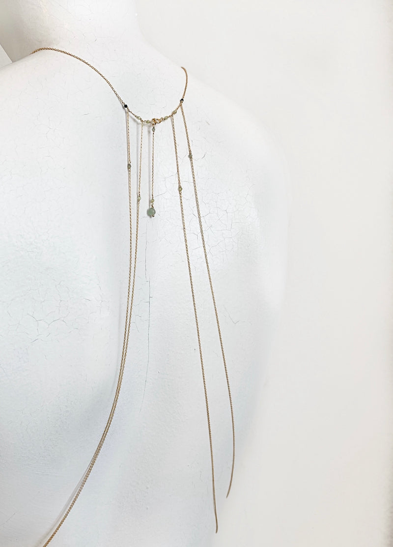 Green CLETE body chain