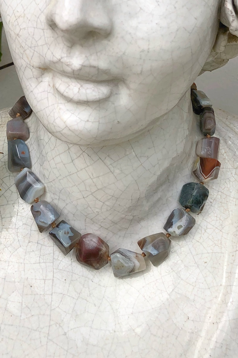 botswana gemstone necklace
