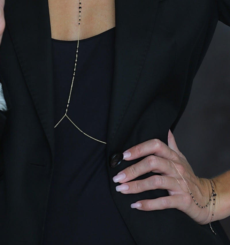 luxurious hand chain