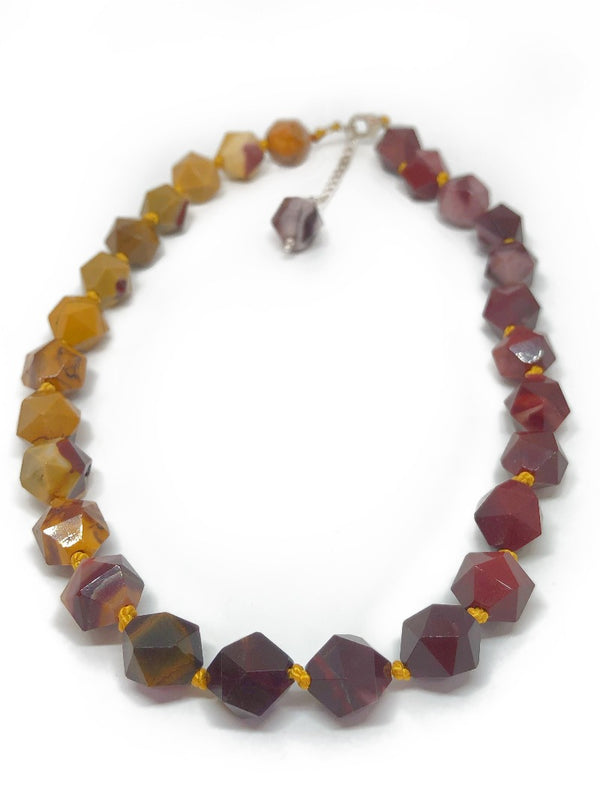 mookaite gemstone necklace jewelry