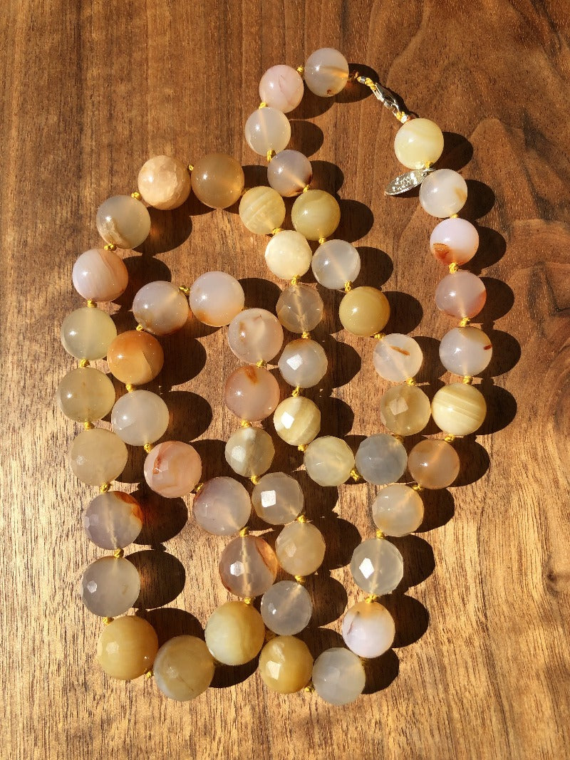 long elegant gemstone necklaces