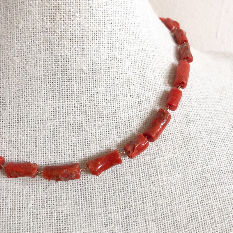 coral necklace fashion jewelry