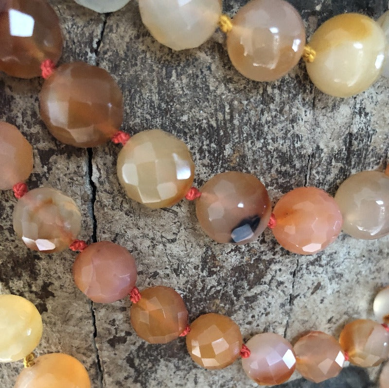 Long Carnelian necklace