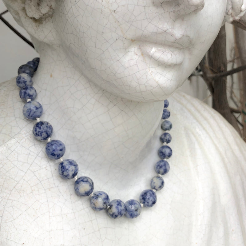 Sodalite necklace