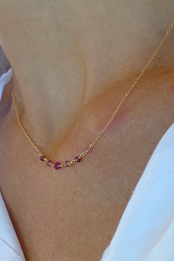 Pink Lykopis necklace