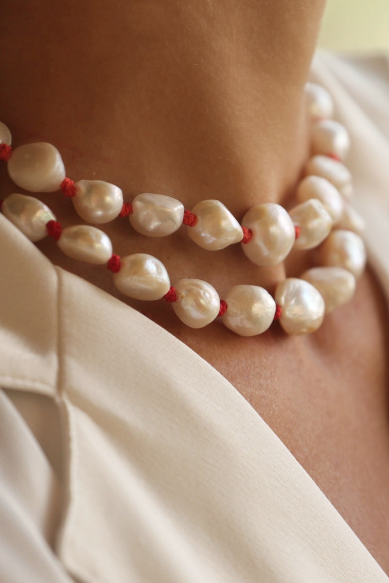 pearl chiker necklace
