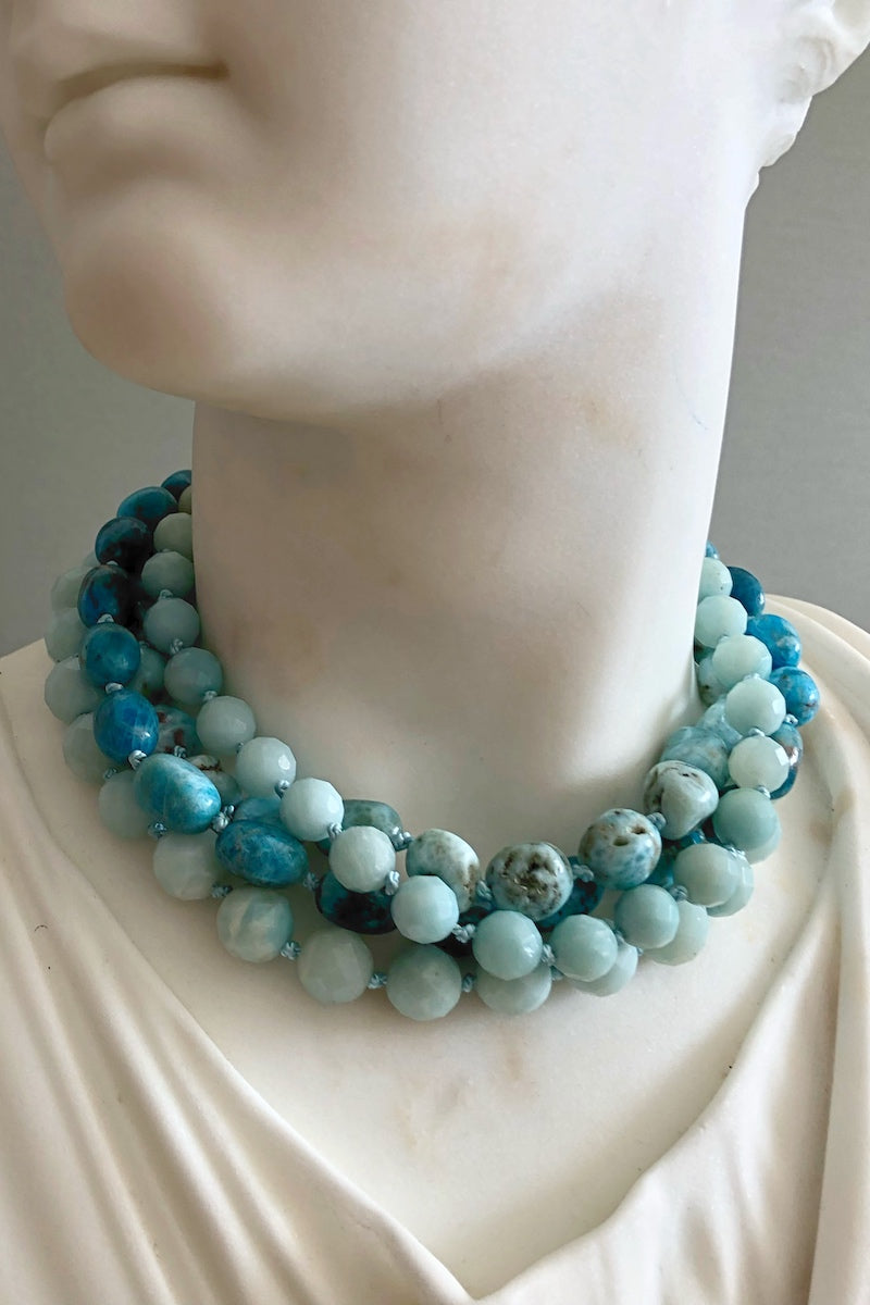 turquoise one of a kind necklace