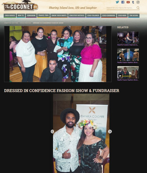 Danika Cooper Jewellery at Dressed in Confidence Charity Event 11 May 2019