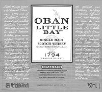 Oban Scotch Single Malt Small Cask Little Bay