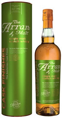 The Arran Malt Scotch Single Malt Sauternes Cask Finishes