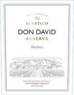 MALBEC DON DAVID RESERVE