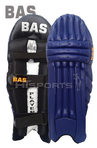 BAS Legend Navy Blue Batting Pads