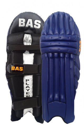 BAS Legend Black Batting Pads